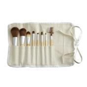 Eco Bamboo 8-Piece Makeup Brush Set