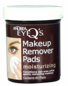 Andrea Eye Q's Moisturising Eye Make-up Remover Pads