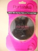 Portables 24 Ct. Non-oily Eye make-up Remover Pads