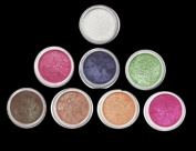 "Micabella Mineral Makeup 8 Stacks ""A-Viva-brown"" Best Colours for Brown Eyes"