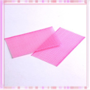 2x Pink Shower Seamless Magic Tape Fringe Hair Stabiliser Ornament Stick Clips B0226