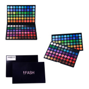 FASH Professional Bold, Bright and Vivid 120 Colour Eyeshadow Palette Makeup Cosmetics