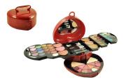Cameo 9879 Heart Shape Carry Case Eye Shadow Cosmetic Make-up Beauty Kit