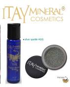 ITAY Mineral Cosmetics Liquid Sparkle Bond + Glitter Powder G5 Silver Sparkle