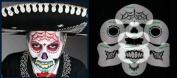 Nixs Collection-Sugar Skull #3 Airbrush Makeup Face Template