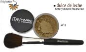 "ITAY Beauty 100% Natural Mineral 9gr Colour - MF13cm Dulce De Leche"" Foundation + * * Application Brush"
