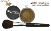"ITAY Beauty 100% Natural Mineral 9gr Colour - MF15cm Latte Macchiato"" Foundation + * * Application Brush"