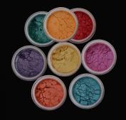 """ITAY Beauty Mineral 8xStacks """"Caribbean Samba"""" + ITAY Hydra-Pure Eye Serum + Sample Size Foundation MF-1 Cream Marfil + Box"""