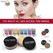 Itay 100% Mineral Foundation MF4 'Golden Nutmeg' + 8-stack 100% Mineral Eyeshadow 'Carribean Samba' + *Free Gift* ITAY 100% Mineral Blush MB6 'Raspberry Smoothie'