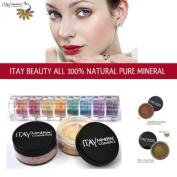 Itay 100% Mineral Foundation MF6 'Latte Macchiato' + 8-stack 100% Mineral Eyeshadow 'Carribean Samba' + *Free Gift* ITAY 100% Mineral Blush MB6 'Raspberry Smoothie'