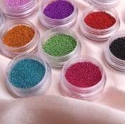 Fashion Caviar Nails Art New 12 Colour Manicures or Pedicures Nail Art.