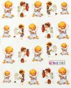 Miao Yun angel baby nail decals water transfer decals nail hydroplaning nail stickers
