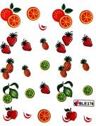 Miao Yun Fruit orange strawberry apple pineapple water transfer decals nail