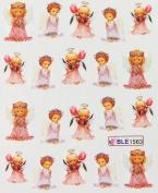 Miao Yun Pretty angel nail decals water transfer decals nail hydroplaning nail stickers
