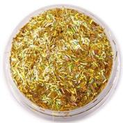 Moyou Nail Art Manicure Striped Glitter - Gold