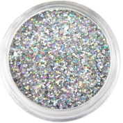 Moyou Nail Art Tiny Hexagon Glitters - Silver