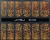 GGSELL YIMEI 12 pcs nail art Nail patch nail stickers nail film yellow nail foil black Streak