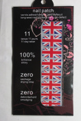 JK 16 pcs nail art Nail patch nail stickers nail foil British flag nails film