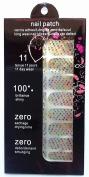 JK 16 pcs nail art Nail patch nail stickers nail foil colourful small stars nails film