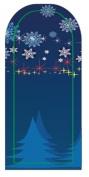 GGSELL JK 16 pcs nail art Nail patch nail stickers nail foil Merry Christmas Christmas tree decoration snowflake stars
