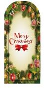 GGSELL JK 16 pcs nail art Nail patch nail stickers nail foil Merry Christmas Pinecone garland