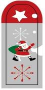 GGSELL JK 16 pcs nail art Nail patch nail stickers nail foil Merry Christmas Santa Claus snow