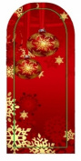 GGSELL JK 16 pcs nail art Nail patch nail stickers nail foil Merry Christmas Snowball snowflake decoration