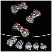 Nails gaga Alloy Nail Art /Glitters Rhinestones Tips / Diy Nail Decoration 10pcs / N1007
