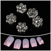 Nails gaga Alloy Nail Art /Glitters Rhinestones Tips / Diy Nail Decoration 10pcs / N1010