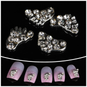 Nails gaga Alloy Nail Art /Glitters Rhinestones Tips / Diy Nail Decoration 10pcs / N1011