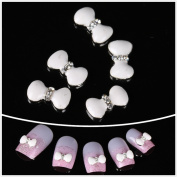 Nails gaga Alloy Nail Art /Glitters Rhinestones Tips / Diy Nail Decoration 10pcs / N1013