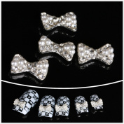Nails gaga Alloy Nail Art /Glitters Rhinestones Tips / Diy Nail Decoration 10pcs / N1024