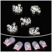 Nails gaga Alloy Nail Art /Glitters Rhinestones Tips / Diy Nail Decoration 10pcs / N1027