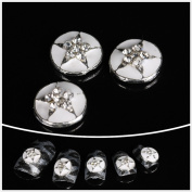 Nails gaga Alloy Nail Art /Glitters Rhinestones Tips / Diy Nail Decoration 10pcs / N1038