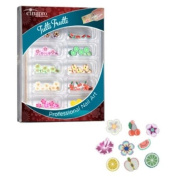 CinaPro Nail Creations Tutti Frutti Decoration Kit