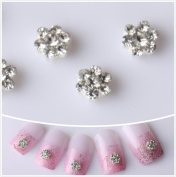 Nails gaga 10pcs 3D Alloy Rhinestones Nail Decoration N1010