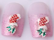 Nails gaga 10pcs 3D Alloy Rhinestones Nail Decoration N1090