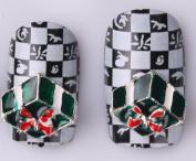 Nails gaga 10pcs 3D Alloy Rhinestones Nail Decoration N1092