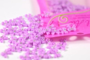 New Arrival 100pcs/pack Purple Resin Bow Tie Nail Art Decoration