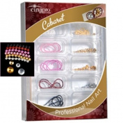 CinaPro Nail Creations Decoration Cabaret Kit