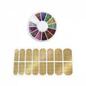 AllyDrew - Nail Art Mini Nail Beads Manicure Wheel & Nail Art Nail Stickers