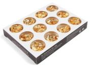 12 PCS GOLD FOIL FLAKE Acrylic UV Gel Nail Art Decoration Paillette New