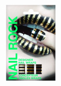 Nail Rock Metallic Stripe Nail Wraps