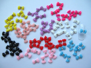 Nail Art 3d 90 Mix BOW /RHINESTONE for Nails, Cellphones 1.2cm