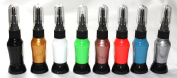 8 Bright Colour 5.1cm 1 Nail Art Pens + Nail Polish Remover