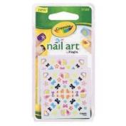 Crayola Nail Art Decals #31503