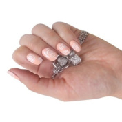 SKINNY nail NEW CoCo Rose Nudy Nail Art Patch Sticker