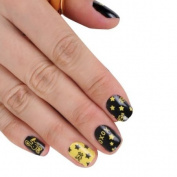 SKINNY nail NEW Colourful Cutie Skull Nail Art Patch Sticker
