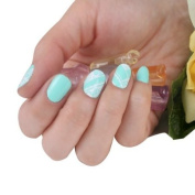SKINNY nail NEW Colourful Pure Mint Lace Cute Nail Art Patch Sticker