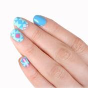 SKINNY nail NEW Colourful Tattoris Cute Nail Art Patch Sticker